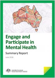Front Cover of report by National Mental Health Commission titled