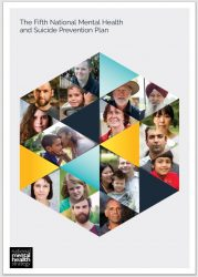 Front page of the Fifth National Mental Health and Suicide Prevention Plan